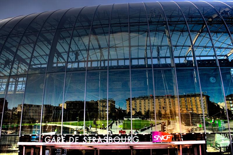 Gare de Strasbourg - 16h05